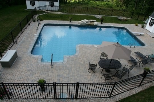 Lovely L Shaped Pool Swimming Pool Amp Hot Tub Boston
