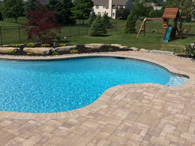 Lower Nazareth Township Custom Freeform Pool Traditional Pool Philadelphia By B B Custom