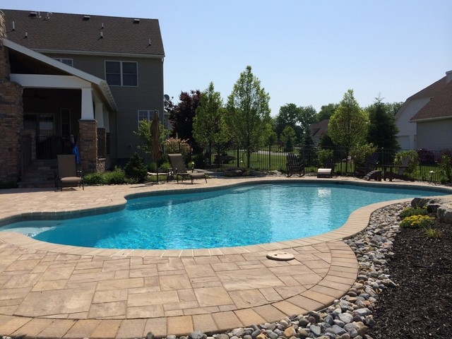 Lower Nazareth Township Custom Freeform Pool Traditional Pool Philadelphia By Barry