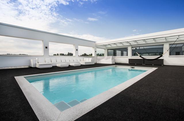 Luis Design Penthouse - Pool - Modern - Pools - Stuttgart ...