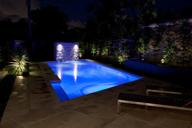 Luisa interior design pool design contemporary pool for Pool design qld