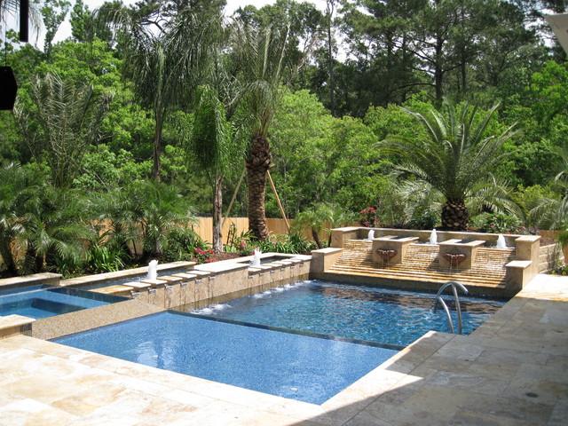 Luke Traditional Pool Houston By Omega Pools LLC