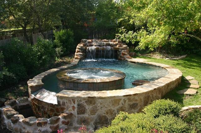 Luxury Backyard Pools : Luxury Backyards  Traditional  Pool  austin  by Cody Pools, Inc
