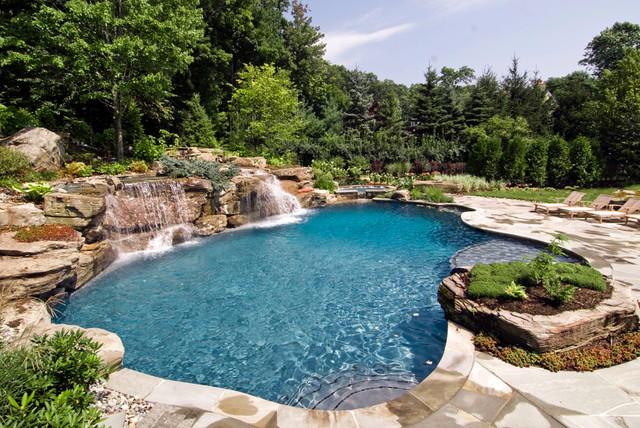Luxury Inground Swimming Pool Design Installation