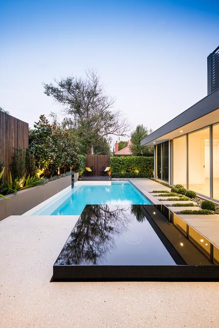 Macgregor Street Modern Pool Melbourne By C O S Design