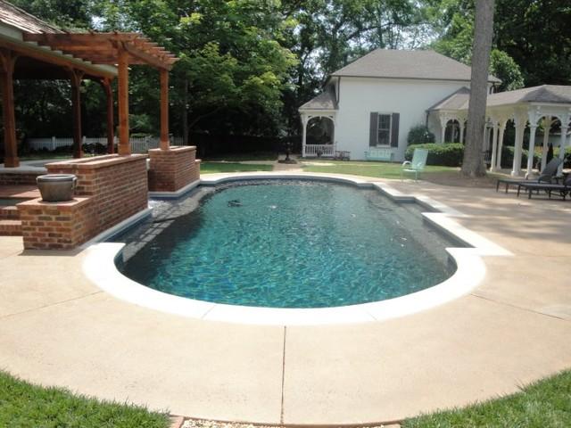 Marietta Historic House Pool traditional-pool