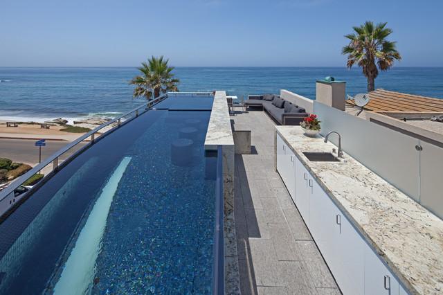 Marine Lair contemporary-pool
