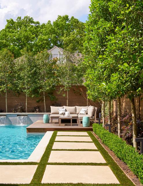 Marquette I Pool Dallas By TATUM BROWN CUSTOM HOMES