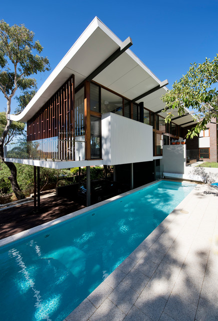 Mayfair Street House Midcentury Exterior Perth By