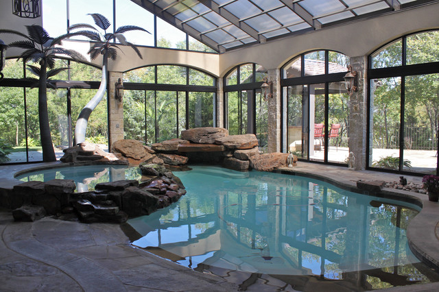 Mckinney Texas Completion Mediterranean Swimming Pool