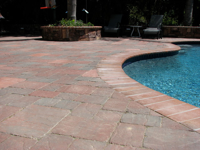 McNear Slatestone Patio Pavers Rustic Pool