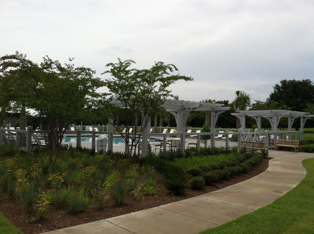Meadowmarsh Park At Oakland Park Fl Beach Style Pool