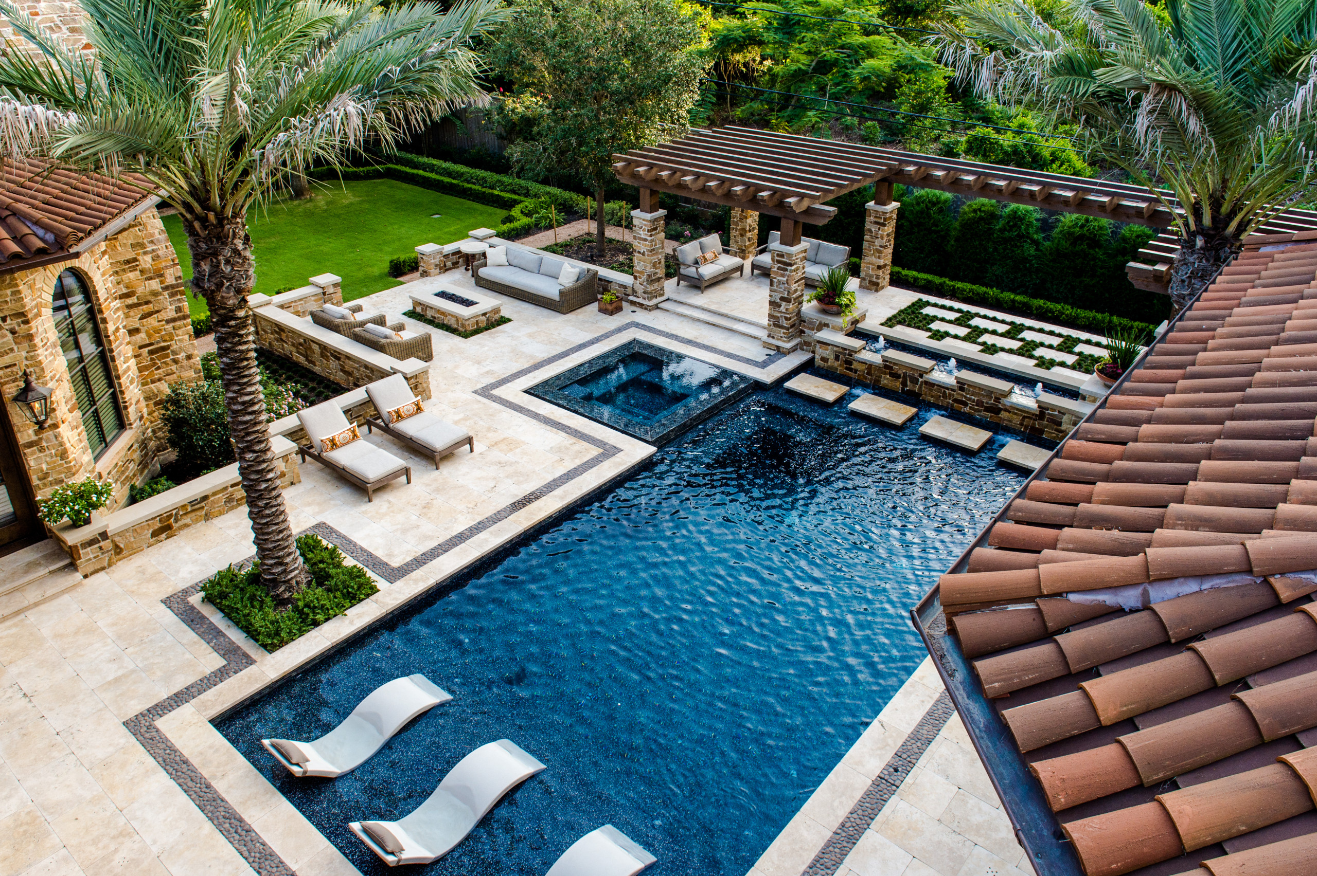 75 Beautiful Large Backyard Pool Pictures Ideas March 2021 Houzz