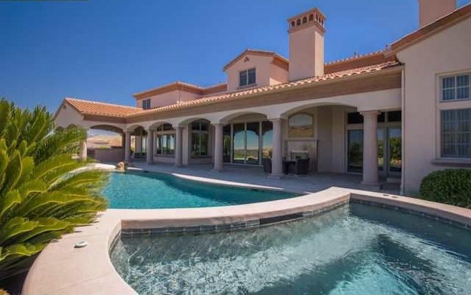 Mediterranean Home Design I W Ruby Hill Dr