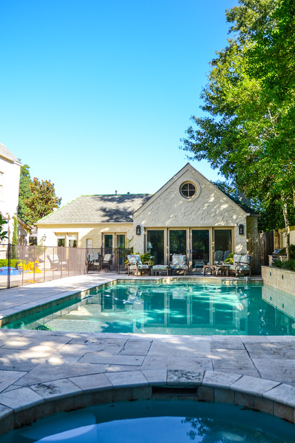 Mediterranean inspired old metairie residence for Metairie architects