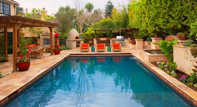 Italian Villa mediterranean-pool