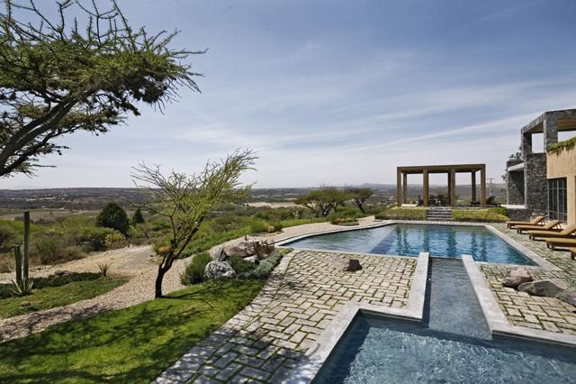 Mexico House mediterranean-pool
