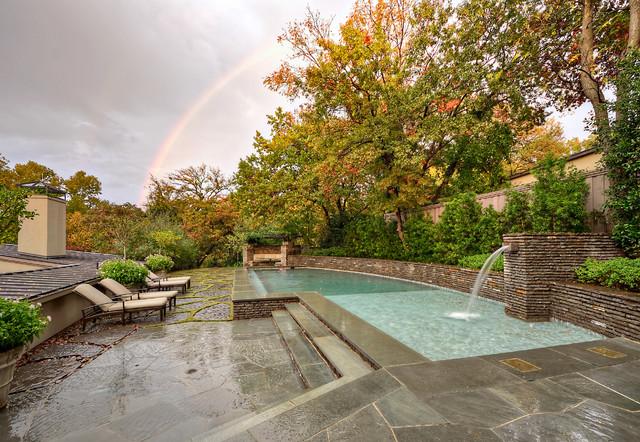 Mid Century Modern Residence U0026 Garden Midcentury Pool