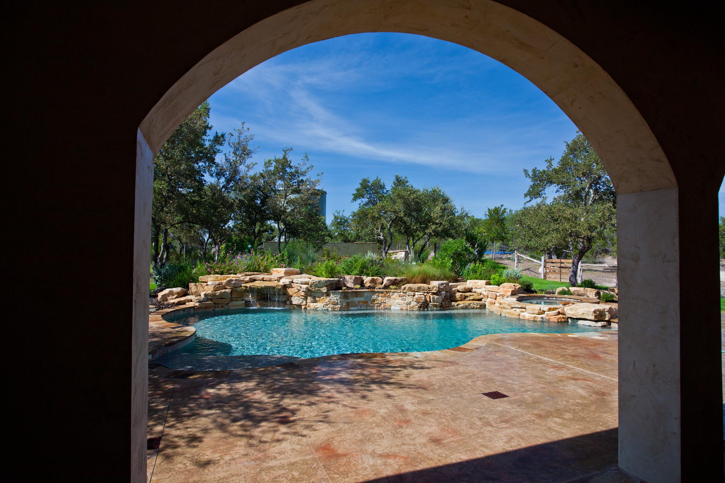 Menger Springs/Boerne Natural Pool/Spa/Landscape