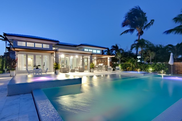 Miami Beach Dream Contemporary Pool Miami By Marmiro Stones