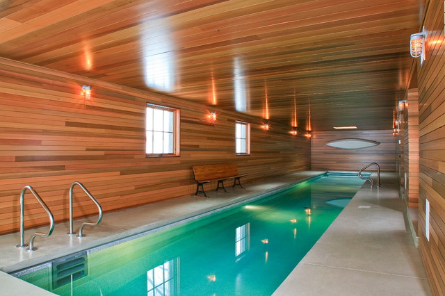 farmhouse pool by Northworks Architects and Planners