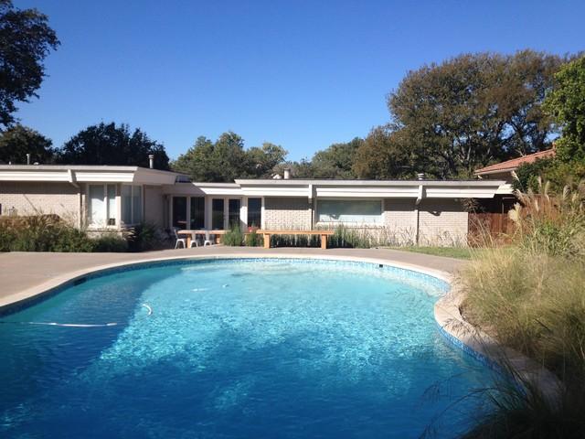 Pool Remodel Dallas Decor Mid Century Modern Pool Remodel  Midcentury  Pool  Dallas .