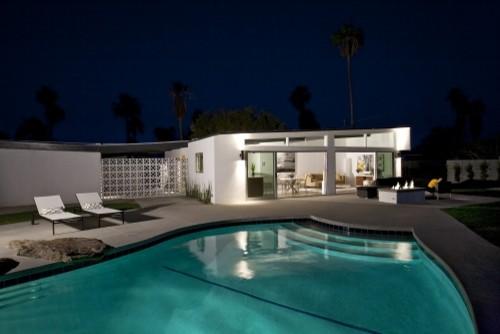 Mid-Century Remodel- Palm Springs modern-pool
