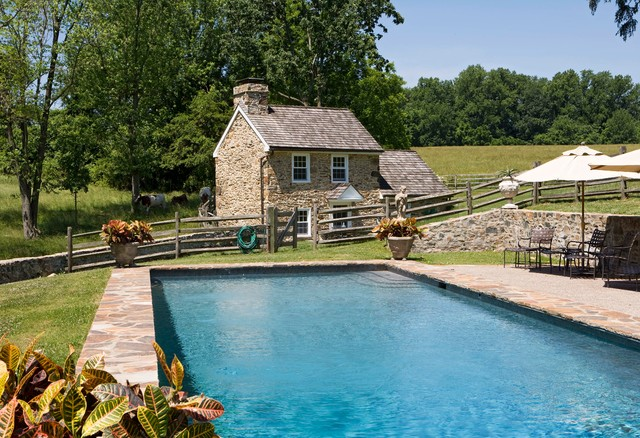 Milk House farmhouse-pool