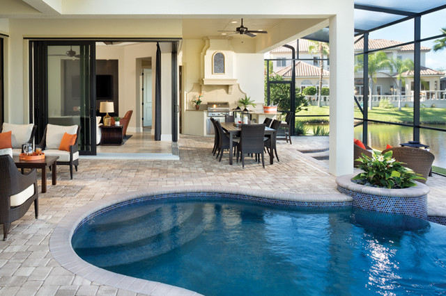 Miramar 1223 Mediterranean Pool Tampa By Arthur Rutenberg Homes