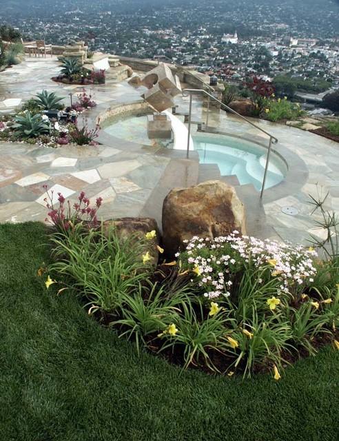 Miramonte eclectic-pool