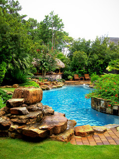 Mirror Lake Designs - Pools - Traditional - Pool - Houston - by Mirror Lake Designs
