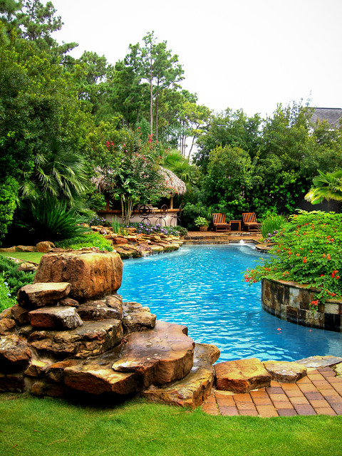 Mirror Lake Designs Pools Tropical Pool Other