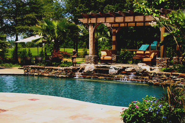 mississippi natural pool outdoor living design