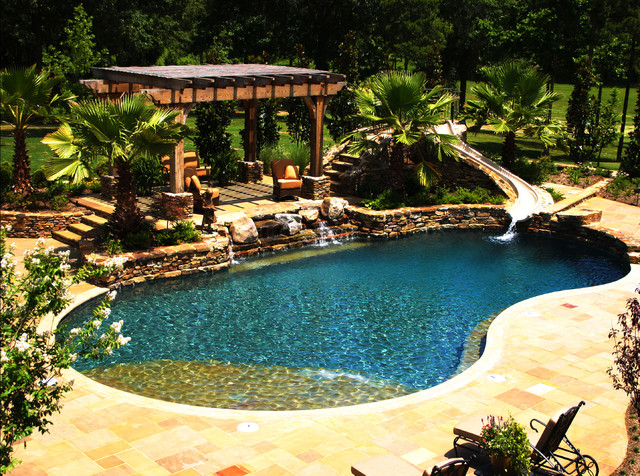 Mississippi Natural Pool & Outdoor Living Design on Pool And Outdoor Living id=66726