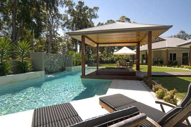 Modern Country modern-pool
