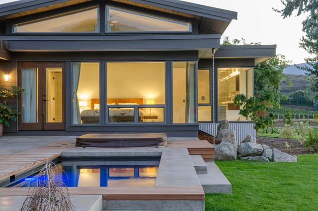 Modern Craftsman Custom Homes contemporary-pool