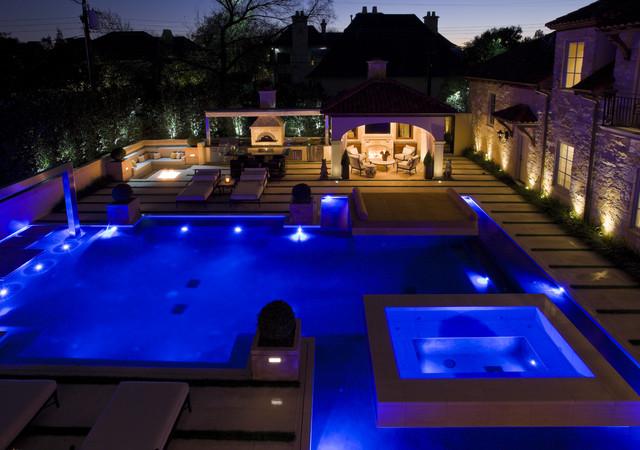 Private Residence - Modern Pool & Garden modern-pool