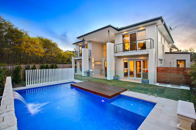 Modern Pool Design Contemporary Pool Sydney By Space