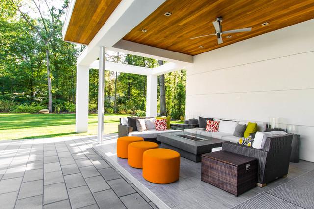 Modern Pool House modern-pool