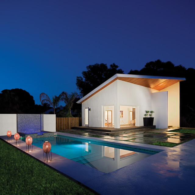 Mumford Pool House modern pool