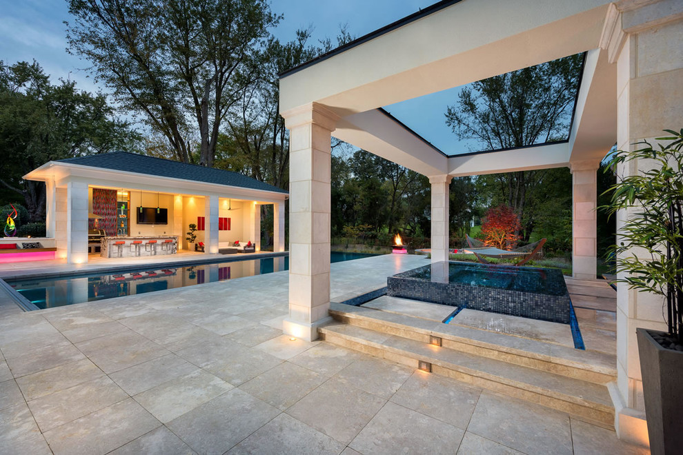 Modern Tranquility - Pool - DC Metro - by COLAO & PETER ... on Colao & Peter Luxury Outdoor Living id=90522