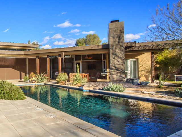 Modern zen collaboration modern pool phoenix by for Zen pool design