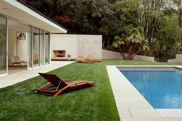 MONTALBA ARCHITECTS INC modern pool