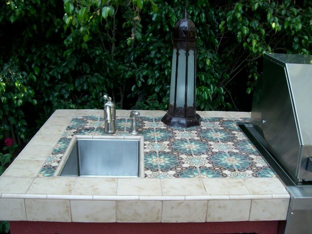 Moroccan Bbq Mediterranean Pool Other By Filmore Clark