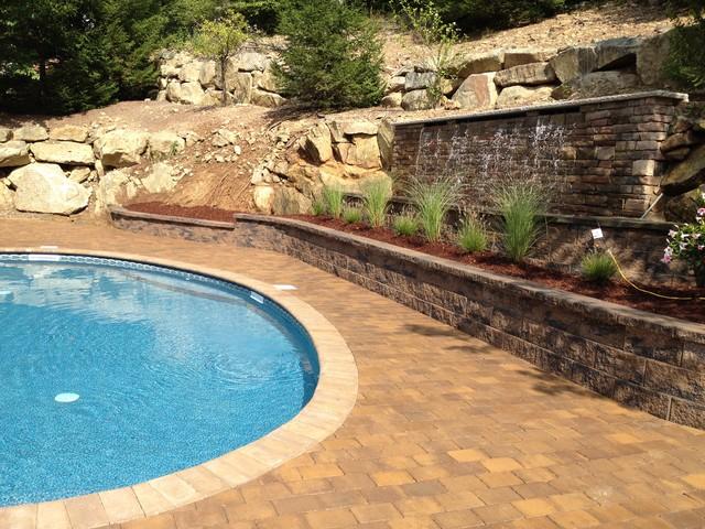 Mount Olive, NJ Pools traditional-pool