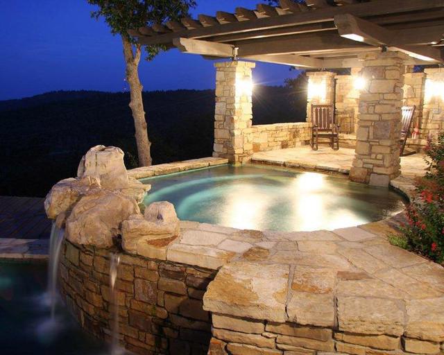 Mountain Home contemporary-pool