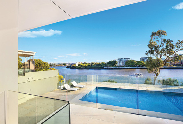 Mpa members contemporain piscine brisbane par for Piscine brighton