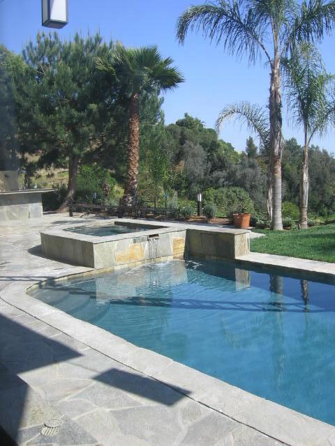 Mulholland Estate contemporary-pool