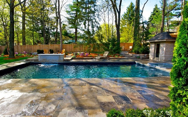 Muskoka In Mississauga - Traditional - Pool - Toronto - By Uncommon Ground Design Group Inc.