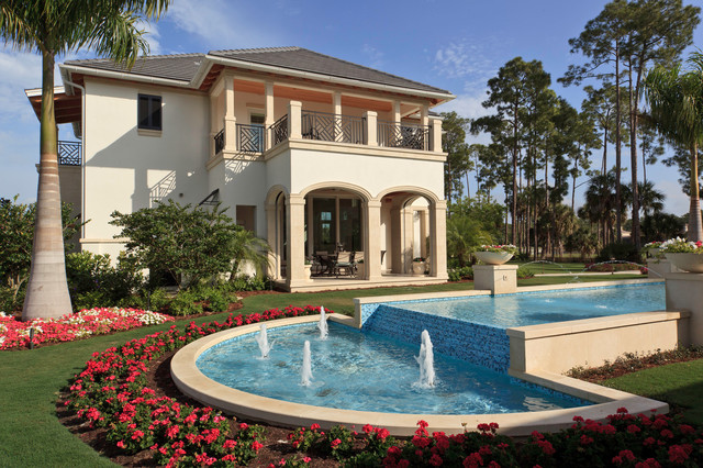 Naples fl home traditional pool miami by borelli for Pool design naples fl